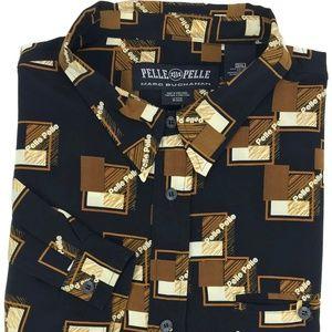 Vintage Pelle Pelle Marc Buchannon Streetwear 3XL